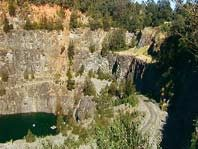 Side of Hornsby Quarry